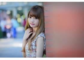 女人,Cubie,王,模特,台湾,女孩,模特,亚洲的,台湾的,Bokeh,肖像,