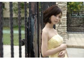 女人,Lín,Yǔ,模特,臺灣,臺灣的,穿衣,新娘,女孩,亞洲的,壁紙,