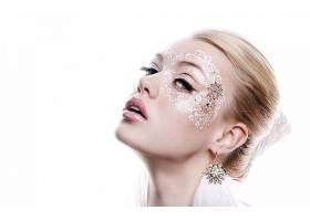 女人,脸,化妆品,耳环,壁纸,