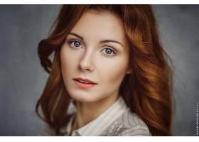 女人,模特,模特,妇女,红发的人,蓝色,眼睛,壁纸,(2)