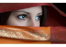 女人,眼睛,壁纸,(11)