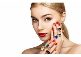 女人,脸,妇女,手,戒指,肖像,珠宝,壁纸,