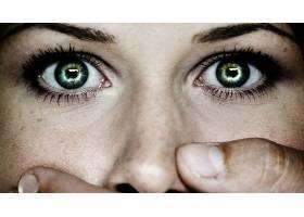 女人,眼睛,机器人,壁纸,