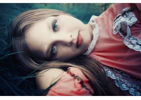 女人,脸,妇女,草,白皙的,蓝色,眼睛,穿衣,肖像,壁纸,