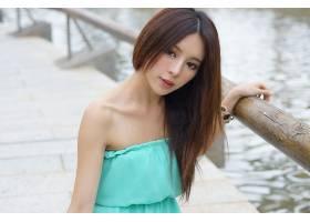 女人,张,气,六月,模特,台湾,朱莉,Chang,女孩,模特,亚洲的,台湾的