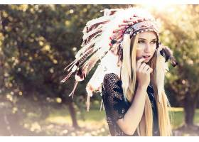 女人,当地的,美国的,模特,壁纸,(2)