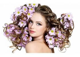 女人,头发,壁纸,(2)