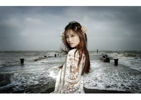女人,亚洲的,壁纸,(65)