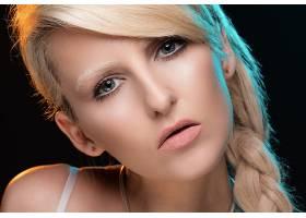 女人,脸,妇女,模特,女孩,白皙的,辫子,蓝色,眼睛,壁纸,