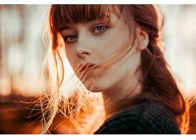 女人,脸,妇女,模特,女孩,蓝色,眼睛,红发的人,壁纸,(1)图片