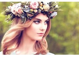 女人,脸,妇女,女孩,Bokeh,模特,白皙的,花冠,蓝色,眼睛,壁纸,