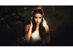 女人,模特,模特,妇女,女孩,黑发女人,棕色,眼睛,壁纸,(4)图片