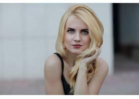 女人,模特,模特,妇女,女孩,白皙的,口红,蓝色,眼睛,壁纸,