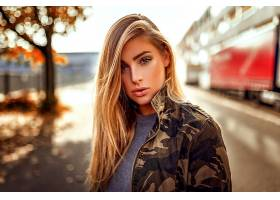 女人,模特,模特,妇女,女孩,白皙的,棕色,眼睛,深度,关于,领域,壁