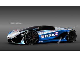 车辆,宝马,Mt-58,宝马,超级跑车,设计,概念,汽车,3D,壁纸,(1)