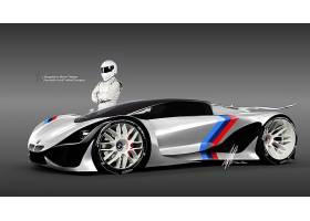 车辆,宝马,Mt58,宝马,超级跑车,设计,概念,汽车,3D,壁纸,(1)