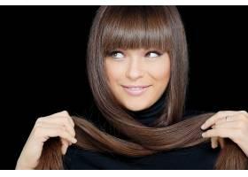 女人,脸,妇女,模特,女孩,黑发女人,微笑,头发,棕色,眼睛,壁纸,图片