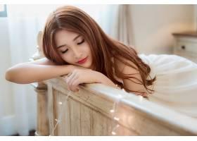 女人,亚洲的,妇女,模特,女孩,口红,黑发女人,睡眠,壁纸,