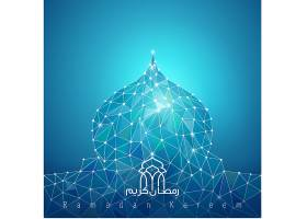 阿拉伯和伊斯兰风格插画设计矢量图