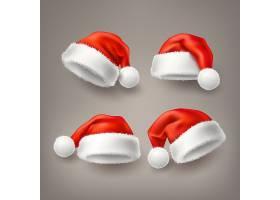 圣诞节帽子装饰图案矢量设计图片