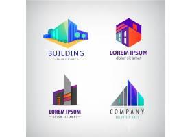 个性房子建筑类形象LOGO设计