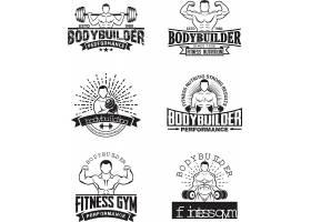 健身中心形象创意LOGO设计
