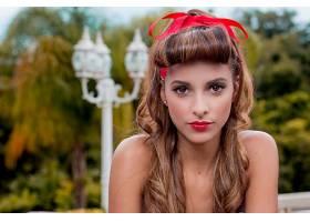 女人,模特,模特,妇女,女孩,脸,黑发女人,口红,棕色,眼睛,壁纸,(1)图片