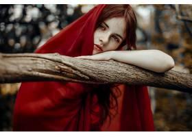 女人,情绪,妇女,模特,红发的人,蓝色,眼睛,户外的,壁纸,