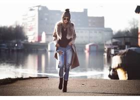 女人,情绪,妇女,模特,女孩,太阳镜,帽子,壁纸,