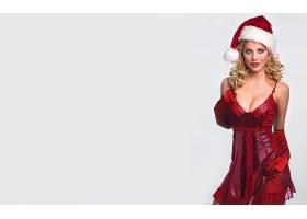 女人,伊娃,哈贝曼,女演员,德国,圣诞节,圣诞老人,帽子,白皙的,壁