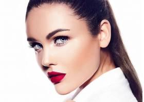 女人,脸,妇女,女孩,口红,黑发女人,蓝色,眼睛,壁纸,