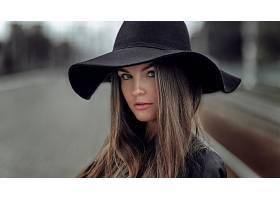 女人,脸,妇女,女孩,模特,帽子,黑发女人,污迹,壁纸,