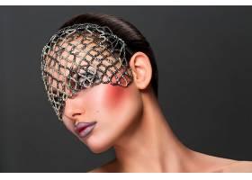 女人,脸,妇女,女孩,面具,口红,壁纸,