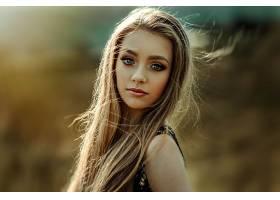女人,模特,模特,白皙的,肖像,深度,关于,领域,妇女,女孩,脸,壁纸,