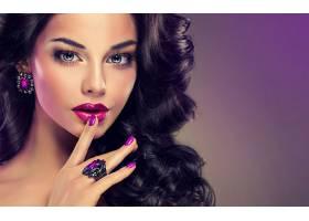 女人,脸,妇女,模特,女孩,口红,蓝色,眼睛,黑发女人,耳环,壁纸,