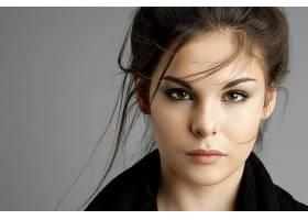 女人,脸,妇女,模特,女孩,棕色,眼睛,黑发女人,壁纸,(3)