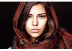 女人,脸,妇女,模特,女孩,棕色,眼睛,黑发女人,壁纸,(7)