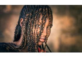 女人,脸,妇女,模特,女孩,棕色,眼睛,黑发女人,壁纸,(8)