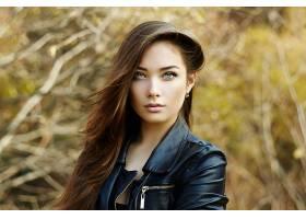 女人,模特,模特,妇女,女孩,黑发女人,蓝色,眼睛,污迹,壁纸,