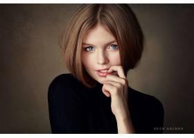 女人,模特,模特,妇女,女孩,黑发女人,蓝色,眼睛,壁纸,(14)