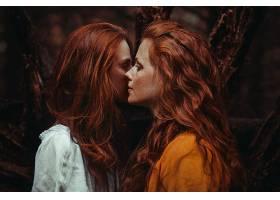 女人,情绪,妇女,模特,女孩,红发的人,雀斑,壁纸,