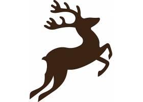 鹿形象创意LOGO设计