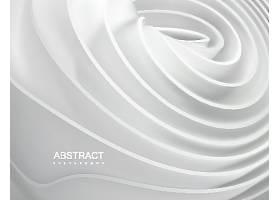 白色层次分明的装饰背景图案