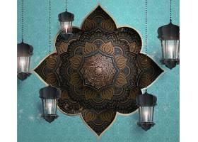 创意开斋节装饰元素设计