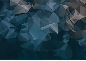蓝色立体几何三角拼接底纹背景矢量