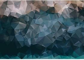 彩色立体几何三角拼接底纹背景