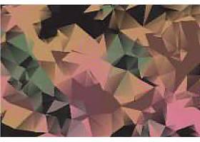 彩色几何三角底纹背景
