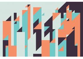 抽象创意几何图形无缝装饰底纹
