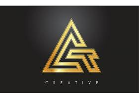金色图形形象创意LOGO设计