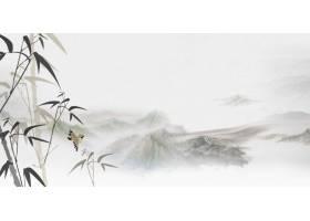 竹子中式传统古典底纹背景banner